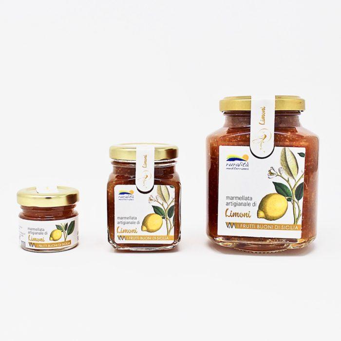 Marmellata artigianale di limoni